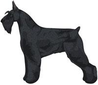 Black Giant Schnauzer